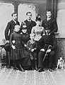 Princess Princess Maria of Greece and Denmark with her parents and siblinsg.jpg