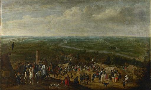 Prins Frederik Hendrik bij de belegering van 's-Hertogenbosch, 1629 (Pauwels van Hillegaert, 1631)