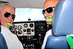 Private pilot and passenger 2016 Namibia.jpg