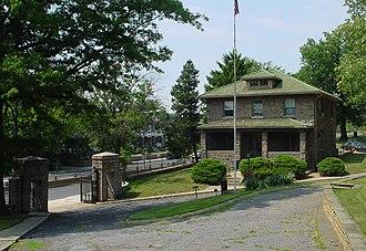 Prospect Hill Cemetery (Washington, D.C.) - Prospect Hill Cemetery Gatehouse