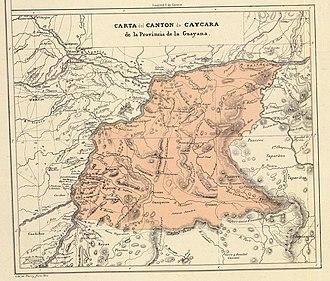 Guayana Province - Image: Provincia de Guayana Cantón Caycara