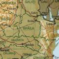 Provinz Braila Romania CIA2006.png