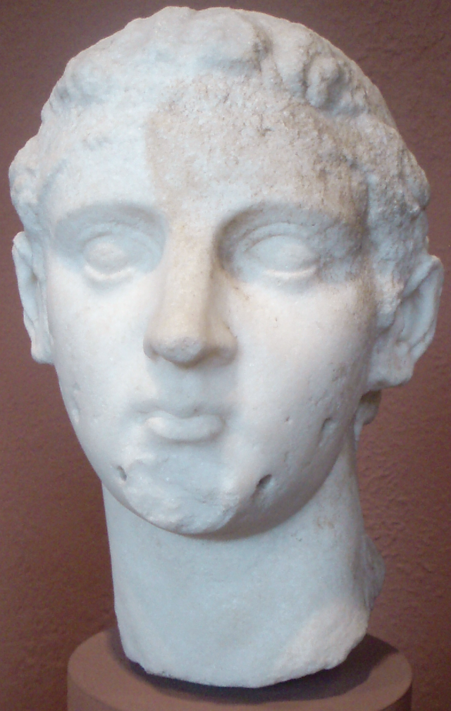 Ptolomeu IV Philopator I (Dinastia Ptolomaica) 640px-PtolemyIV-StatueHead_MuseumOfFineArtsBoston