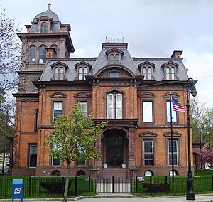 Marcus F. Cummings - Image: Public Library North Adams from west