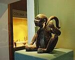 Puebla - Museo Amparo - Singe, classique, états théocratiques, influence du style Remojadas, Totonala.JPG