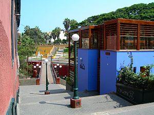 Barranco District - Image: Puente de los suspiros de Barranco