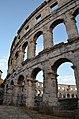 Pula Arena, Roman Amphitheatre, Colonia Pietas Iulia Pola Pollentia Herculanea, Histria (10384441713).jpg