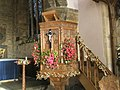 Pulpit within Anglican church - geograph.org.uk - 643051.jpg