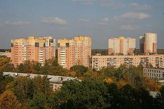 Pushkino, Pushkinsky District, Moscow Oblast - Residential buildings in Pushkino