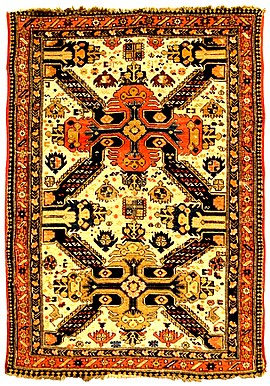 Qollu chichi carpet, Baku group of Azerbaijani carpets.jpg