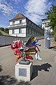 Quamelius Albatrhyn Grunfus. Skulptur am Rheinfall. Img 1.jpg