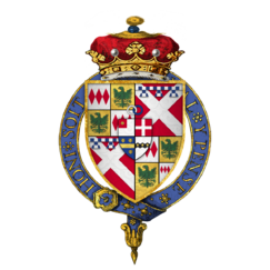 Quartered arms of Sir John Nevill, 1st Marquess of Montagu, KG.png