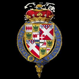 John Neville, 1st Marquess of Montagu - Quartered arms of Sir John Neville, Marquess of Montagu