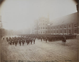 The Queen's Own Rifles of Canada - Queen's Own Rifles at Toronto Armories (HS85-10-12532)