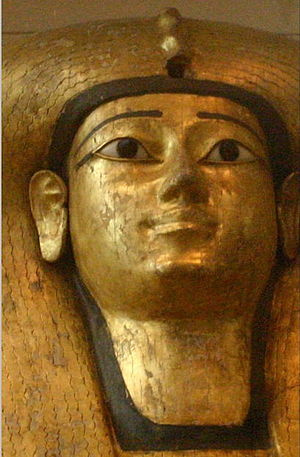 Ahhotep II - Queen Ahhotep's coffin from Dra' Abu el-Naga'