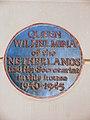 Queen Wilhelmina of the Netherlands had Her Secretariat in this house 1940-1945.JPG