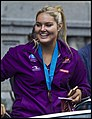 Queensland Netball Firebirds parade day-27 (19260013375).jpg