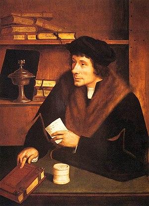 Pieter Gillis - Image: Quinten Massijs (I) Portrait of Pieter Gillis WGA14290