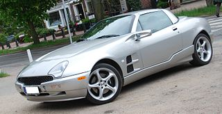 Qvale Mangusta car model