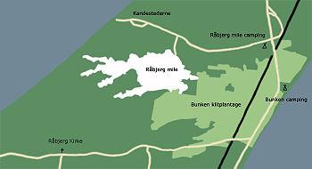 kart over skagen danmark Råbjerg Mile – Wikipedia kart over skagen danmark