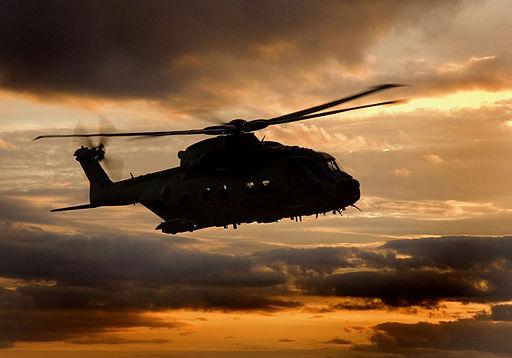 RAF Merlin Helicopter MOD 45149758