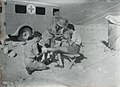 RAF ambulance and medics - Middle East? (4872953249).jpg