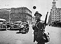 RIAN archive 1223 A policemen on Gorky street.jpg