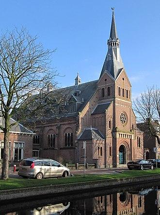 Vrijzinnige Geloofsgemeenschap NPB - The NBP church in Weesp, the Netherlands