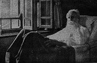 Rabindranath Tagore at Udayan, Santiniketan in 1941.JPG