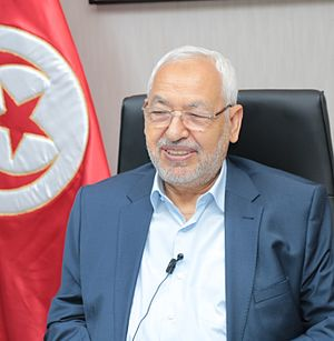 Rached Ghannouchi - Image: Rached Ghannouchi 3