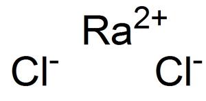 Radium chloride - Image: Radium Chloride