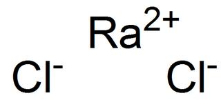 Radium chloride Chemical compound
