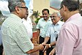 Raghvendra Singh Shaking Hands With Shrikant Pathak - Science City - Kolkata 2018-07-20 2459.JPG