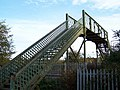 Railway Footbridge - 2, Parkgate, Rotherham - geograph.org.uk - 1567076.jpg
