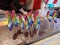 Rainbow Color Chocolate Banana (11704336484).jpg