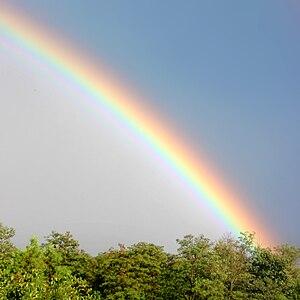 Rainbow from Budapest