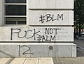 Raleigh, North Carolina George Floyd death protest damage 17.jpg