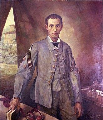 Santiago Ramón y Cajal - Ramón y Cajal as a young captain in the Ten Years' War in Cuba, 1874.