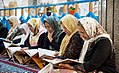 Ramadan 1439 AH, Qur'an reading at Jameh Mosque of Sanandaj - 29 May 2018 13.jpg