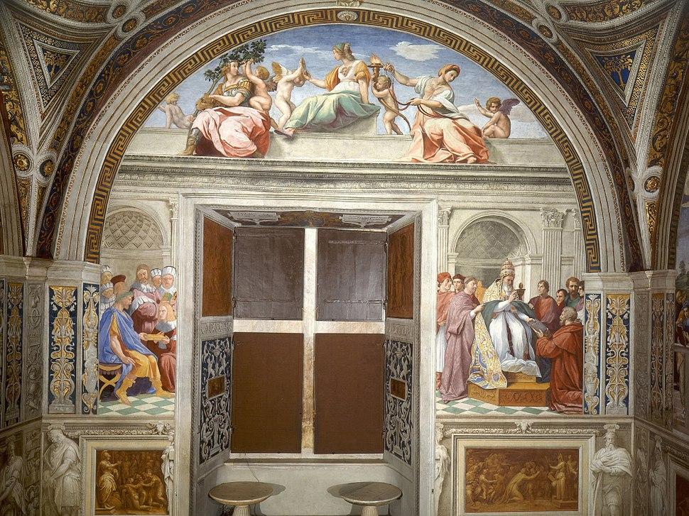 Raphael - Cardinal and Theological Virtues