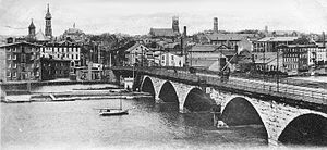 Albany Street Bridge - Albany Street Bridge in 1903.