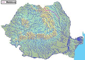 The Moldova in Romania