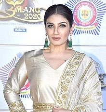 Raveena Tandon in Umang 2020.jpg