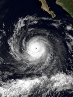Hurricane Raymond (1989) Category 4 Pacific hurricane in 1989