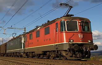 SBB-CFF-FFS Re 420 - Re 420 together with an Re 620
