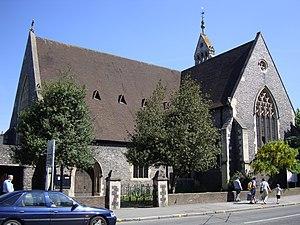 Greyfriars Church, Reading - Image: Reading Greyfriars