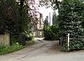 Rear entrance to Birthwaithe Hall - geograph.org.uk - 459657.jpg
