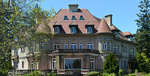 Pittock Mansion - The east façade