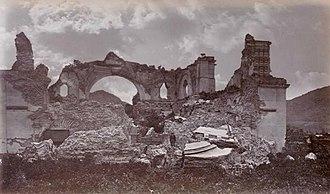 La Recolección Architectural Complex - Image: Recoleccion 1875a
