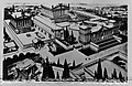 Reconstructie beeld van het tempelcomplex van Baalbek, Bestanddeelnr 255-6508.jpg